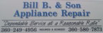 Bill B & Sons Appliance