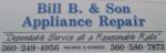 Bill B & Sons Appliance